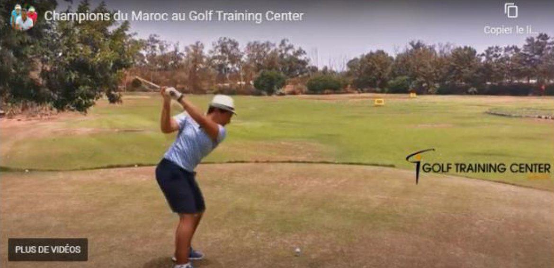 Champions du Maroc au Golf Training Center