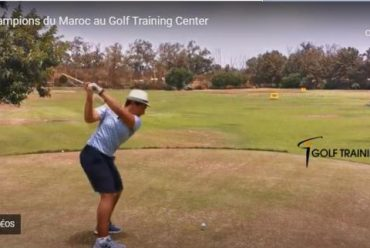 Champions du Maroc au Golf Training Center