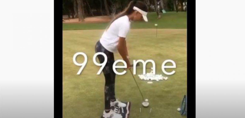 Cent put consécutives de Noura à Agadir Golf Training Center