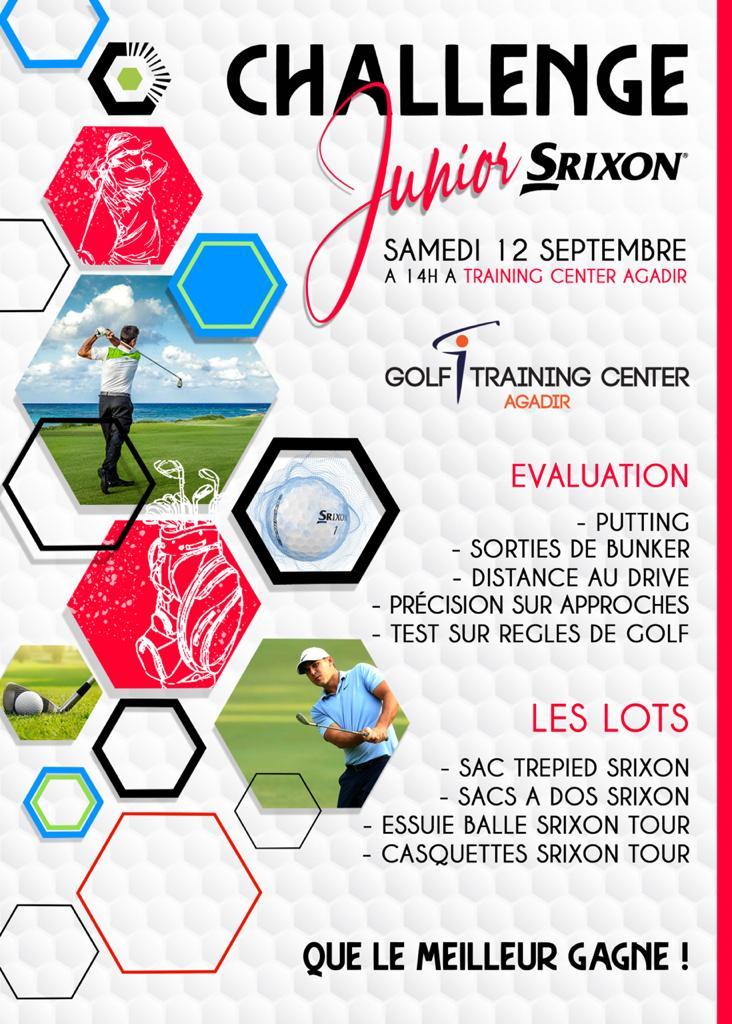Challenge Junior Srixon Agadir